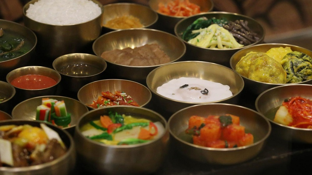 alat makan Korea