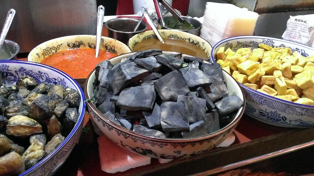 stinky tofu Cina