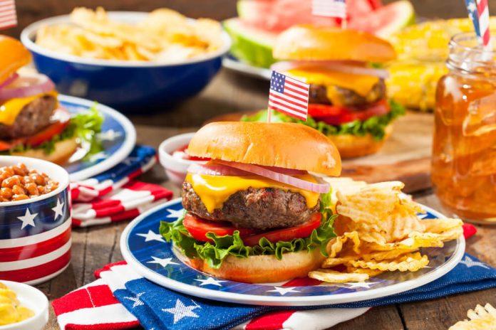 makanan Amerika