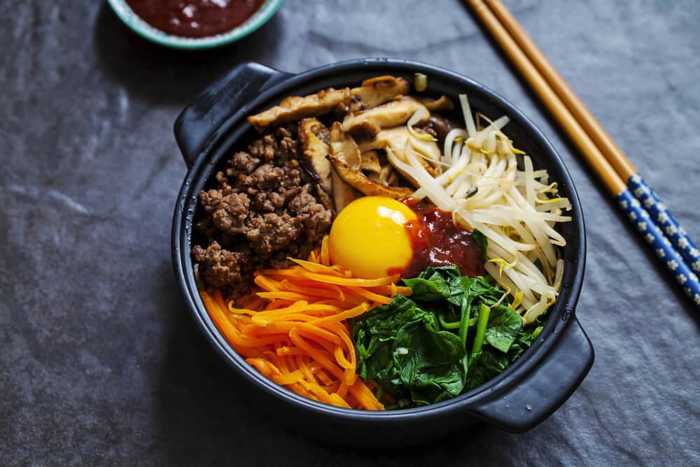 Bibimbab makanan Korea