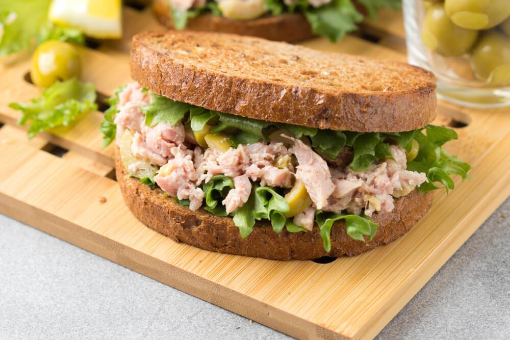 sandwich tuna Amerika