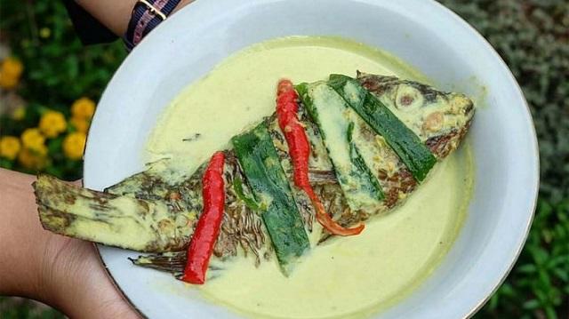 gulai taboh khas Lampung