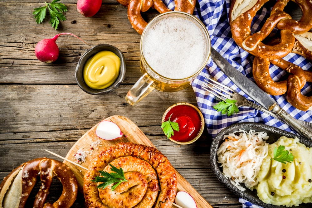 Jelajah Makanan Jerman Di Bavaria Dari Kue Jahe Hingga Sosis