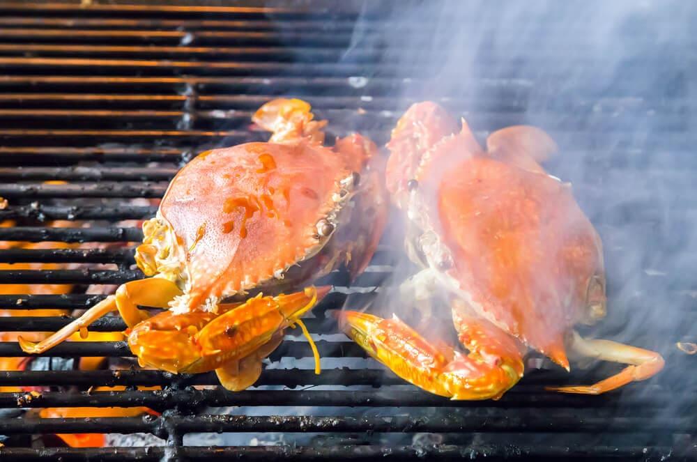 cara membakar kepiting